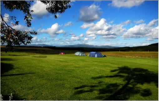 Dalbeattie camp caravan holiday